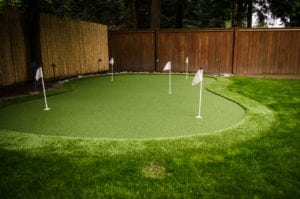BZ Built - Home Renovation - golf green turf - putting green - Langley - Surrey-0348-2