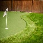 BZ Built - Home Renovation - golf green turf - putting green - Langley - Surrey-0350-2