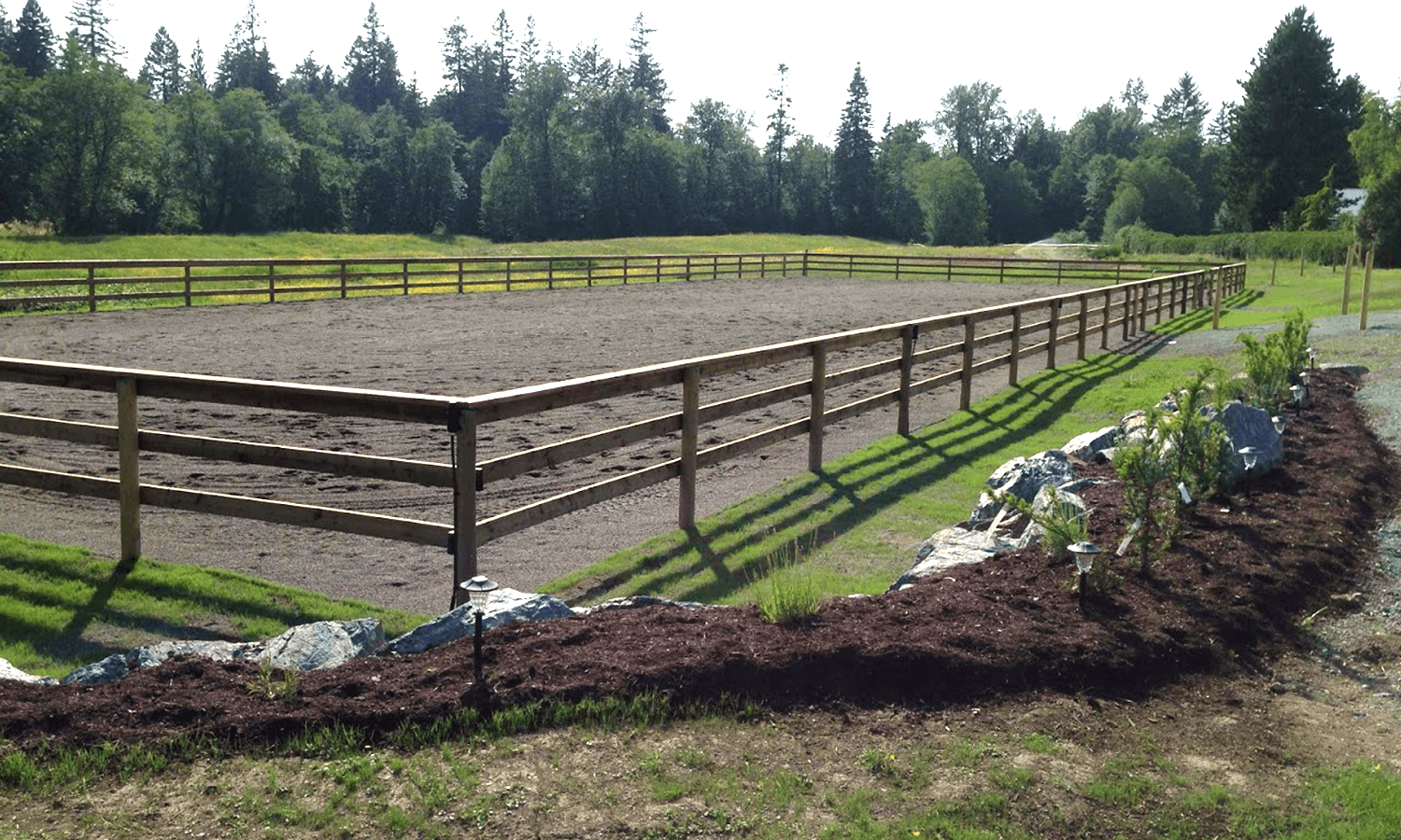 Equestrian ConstructionAll-weather & Indoor Riding Rings, Paddock Paradise