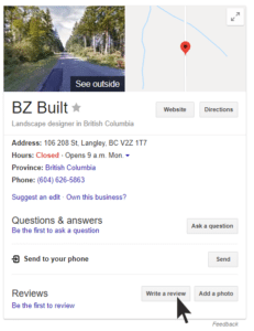 BZ-Built-Langley-Construction-google-review